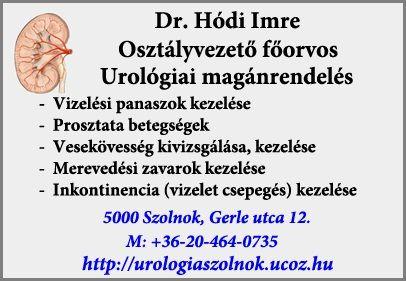 prosztata ultrahang szolnok